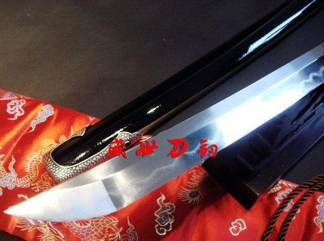 Clay Tempered Sanmai Blade Japanese Samurai Katana Sharpened Full Tang Sword