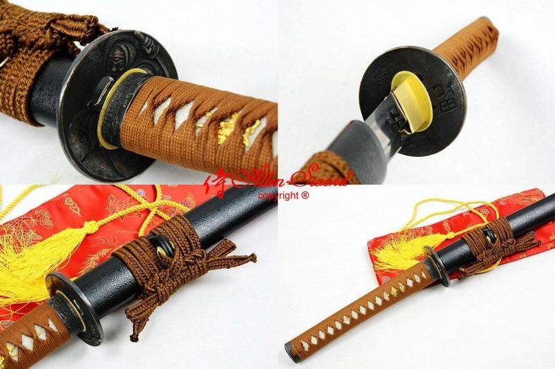 Handmade Japanese Standard Katana Warrior Tsuba Full Functional Sword Sharpened