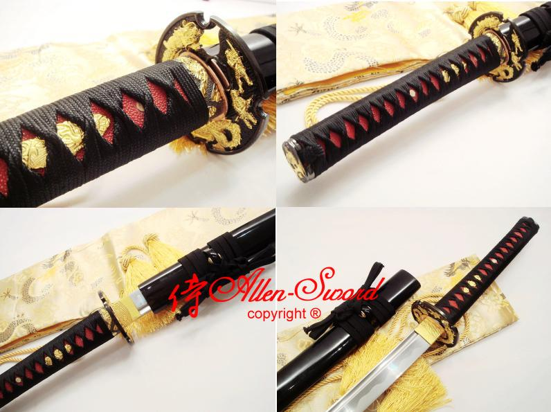 Katana Blades For Sale Blade Katana Dragon Tsuba
