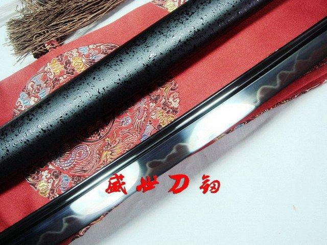 Battle Ready Clay Tempered 1095steel Blade Japanese Katana Yanmo Sword Full Tang
