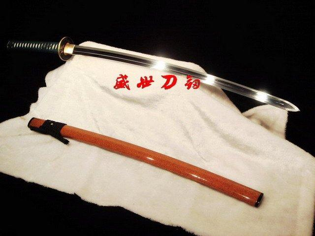 Battle Ready Japanese Samurai Ken Sword 9260 Spring Steel Full Tang Blade