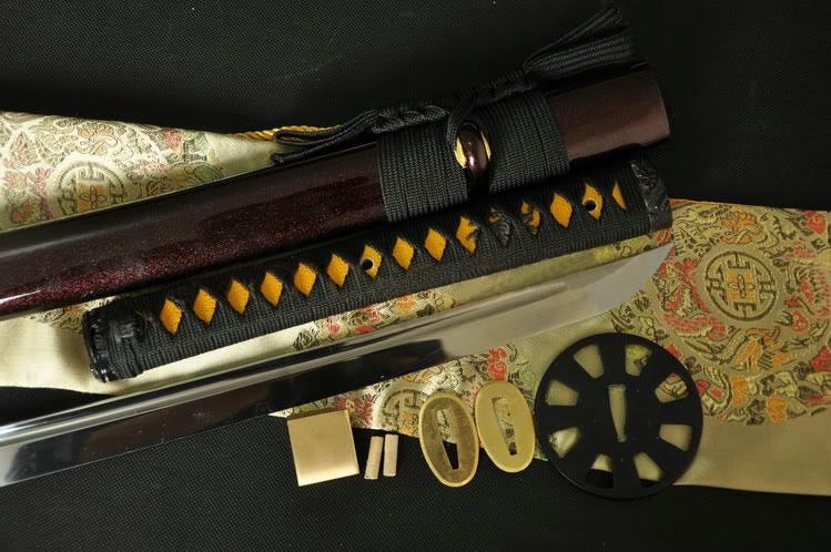 1095 High Carbon Steel Handmade Japanese Samurai Sword Kanana