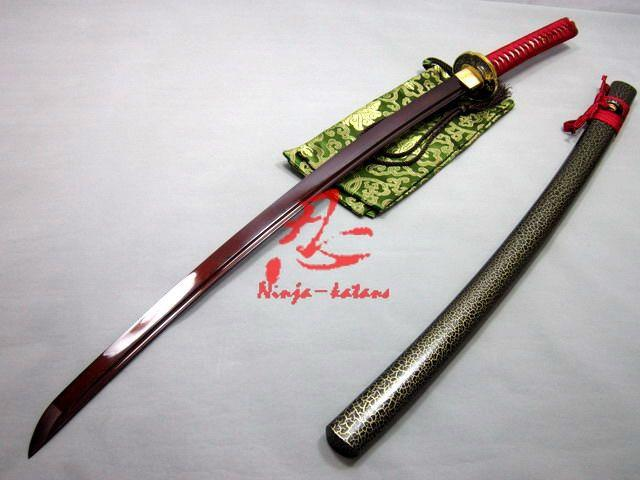 Battle Ready Japanese Samurai Katana Folded Steel Blade Sparrow Tsuba Shaprened Sword