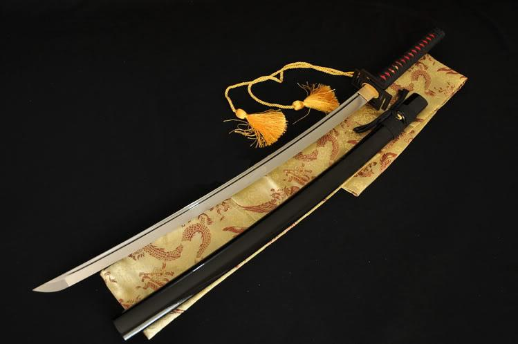 1060 High Carbon Steel Japanese Samurai Katana Battle Ready Sword