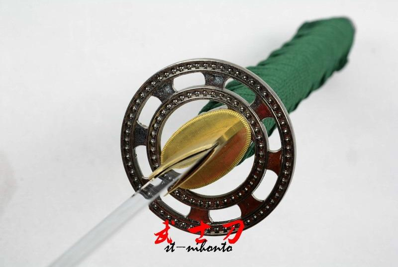 Handmade Japanese Full Tang Blade Katana Sword Matrix Tsuba Very Sharp Edge