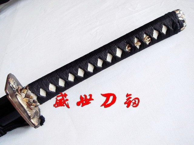 Clay Tempered Kobuse Blade Japanese Katana Sword Buddha Tsuba Battle Ready Sharpened Blade