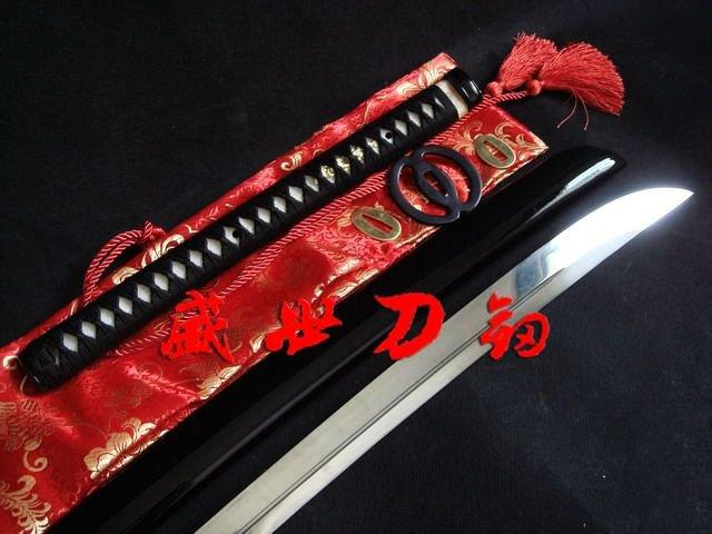 Battle Ready 117cm Japanese Naginata Sword Musashi Tsuba Sharpened Blade