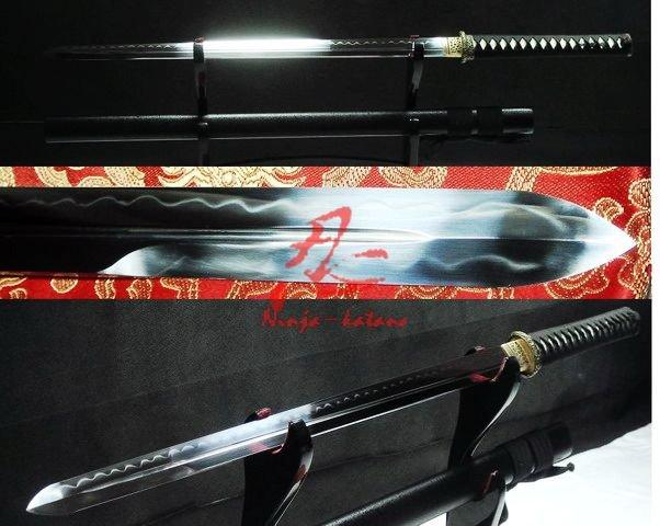 Handforged Clay Tempered Battle Ready Japanese Ninja Katana Ken Sword Sharpened Blade