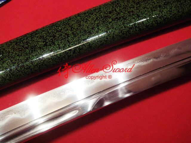 30.7 Inch Top Quality Clay Tempered Japanese Samurai Musashi Wakizashi Katana Sword